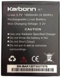 Karbonn  Battery - Karbonn A7 star (Black)