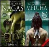 Shiva Trilogy: The Secret of the Nagas and the Immortals of Meluha (Set of 2 Books) (English)