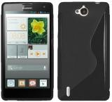 Ramas Back Cover for Huawei Y511 (Black)