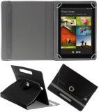 Hook Flip Cover for Hcl Me Tablet Connect 2G (V1) (Black)