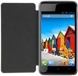 ACM Flip Cover for Micromax Canvas Ego A113 (Black)