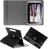 Hook Flip Cover for HCL Me Tablet Connect 2G V1 (Black)