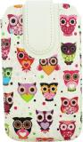 Emartbuy Pouch for Celkon A119q Signature Hd (Multi Coloured Owls)