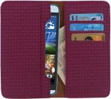 D.rD Wallet Case Cover for Micromax Canvas EGO A113 (Maroon)