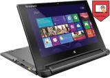 Lenovo Flex 10 Celeron Dual Core 4th Gen - (2 GB/500 GB HDD/Windows 8 Pro) 59-439199 Flex 10 Netbook (10 inch, Black, 1.2 kg)