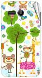 Garmor Gz2700- Designer Mobile Skin Sticker For Huawei Ascend Y511 Mobile Skin (Multicolor)