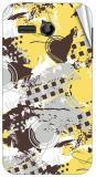 Garmor Gz1901- Designer Mobile Skin Sticker For Huawei Ascend Y511 Mobile Skin (Multicolor)