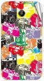 Garmor Gz2384- Designer Mobile Skin Sticker For Huawei Ascend Y511 Mobile Skin (Multicolor)