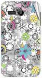 Garmor Gz1983- Designer Mobile Skin Sticker For Huawei Ascend Y511 Mobile Skin (Multicolor)
