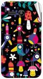 Garmor Gz2116- Designer Mobile Skin Sticker For Huawei Ascend Y511 Mobile Skin (Multicolor)