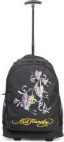 Ed Hardy Designer Trolley Backpacks - 1A1B2BTF | Black | Medium 4 L Backpack