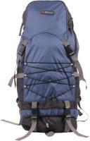 Bleu Rucksack 60 L Large Backpack Blue, Black