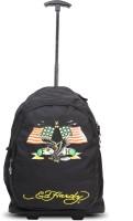 Ed Hardy Designer Trolley Backpacks - 1A1B2AME | Black | Medium 4 L Backpack