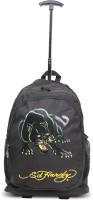 Ed Hardy Designer Trolley Backpacks - 1A1B2PNT | Black | Medium 4 L Backpack