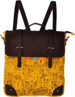 Funk For Hire Fancy Bag 2.5 L Others Backpack Yellow, Size - 35