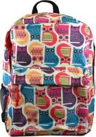 Chumbak Cats 15 L Medium Backpack