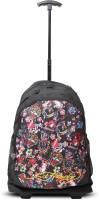 Ed Hardy Designer Trolley Backpacks - 1A1B2AOC | Black | Medium 4 L Backpack