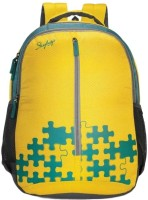 sk bags Skybags Yellow Polyester 30 L Backpack