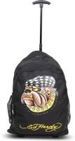 Ed Hardy Designer Trolley Backpacks - 1A1B2RDG | Black | Medium 4 L Backpack