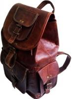 NK Vintage Leather Backpack