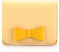 Elizabeth's Tailleur Messenger Women Casual Yellow PU Clutch