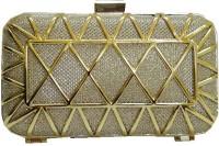 Russo Fashion Designer Clutch Golden