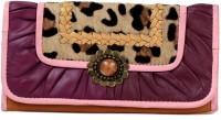 R&F Designs Mondero Frunces Clutch Purple