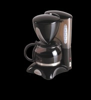 Maple Cofmkr 6 Cups Coffee Maker Black