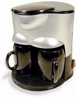 Sogo SS-020 2 Cups Coffee Maker Silver
