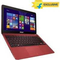 Asus EeeBook X205TA 90NL0734-M04080 Netbook 4th Gen Atom Quad Core/ 2GB/ 32GB EMMC/ Windows 8.1 Red