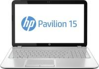 HP Pavilion 15-n206TX Laptop 3rd Gen Ci3/ 4GB/ 500GB/ Win8.1/ 2GB Graph Imprint Pearl White With Micro Dot Pattern