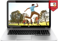 HP Envy Leap Motion Touchsmart SE 17-J102TX Laptop 4th Gen Ci7/ 8GB/ 1TB/ Win8.1/ 4GB Graph/ Touch Glass Fiber With Silky Soft Touch Aluminium Finish Natural Silver