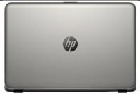 HP 15-ac053TX Notebook Core i7 5th Gen/ 8GB/ 1TB/ Win8.1/ 2GB Graph M9V70PA Turbo SIlver Color With Diamond & Cross Brush Pattern