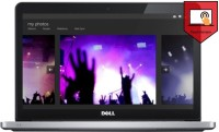 Dell Inspiron 7537 Notebook Core i5 4th Gen/ 6GB/ 1TB/ Win8.1/ 2GB Graph/ Touch 7537561TB2ST SIlver