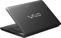 Sony VIAO E Series SVE14116GNB Laptop 3rd Gen Ci5/4GB/500GB/Win 7 Pro Black