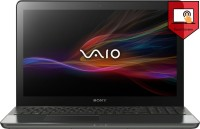 Sony VAIO Fit 15 F15A13SN/B Laptop 3rd Gen Ci5/ 4GB/ 750GB/ Win8/ 2GB Graph/ Touch Black