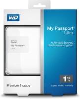 Western Digital My Passport Ultra 1TB Hard Disk (WDBBKD0020BWH) 1 TB Wired External Hard Drive