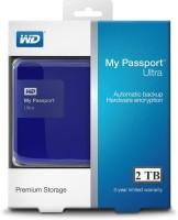 Western Digital My Passport Ultra Secure Portable Drive 2 TB Wired External Hard Drive