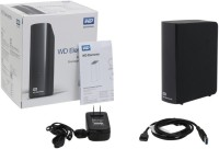 Western Digital WD Elements Basic Storage Stockage Simplement 3 TB Wired external_hard_drive Black