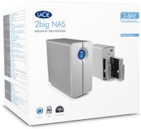 Lacie 2big NAS 2000345 Diskless Upto 10 TB Wired external_hard_drive Grey