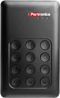 Portronics Secure-D 500 GB Wired External Hard Drive