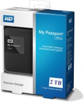 Western Digital My Passport Ultra 2$$TB Wired External Hard Drive