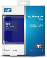 Western Digital New WD My Passport Ultra 1TB 3.0 Secure Portable Drive 1 TB Wired External Hard Drive