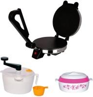 Libra Libra Roti Maker Combo Of Dough Maker, Casserole & Demo CD 1000 W Food Processor