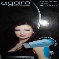 Agaro Saloon pro HD-5424 Hair Dryer Blue