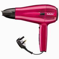 Babyliss Cord Keeper BA-5224U Hair Dryer Pink
