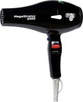 ETI Italy 5000 Professional 2500 Watts AC Motor Mega Stratos Hair Dryer Black