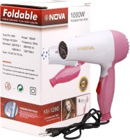 Nova 1290 Hair Dryer Pink