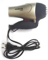 Nova Foaldable NV-1290 Hair Dryer Black, Gold