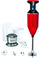 Lifecrystal Deluxe 200 W Hand Blender Red